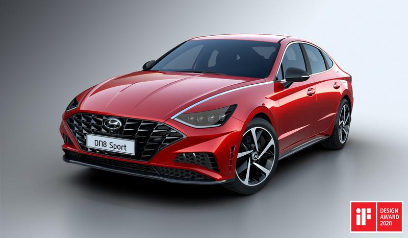 Hyundai Sonata отримала нагороду iF Design Award 2020